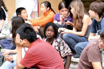 Brunella Marcelli insegnamento: una classe multietnica