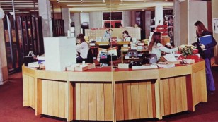 Help desk in the 1970s
