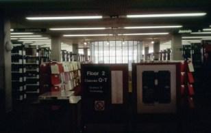 Second floor in the 1980s