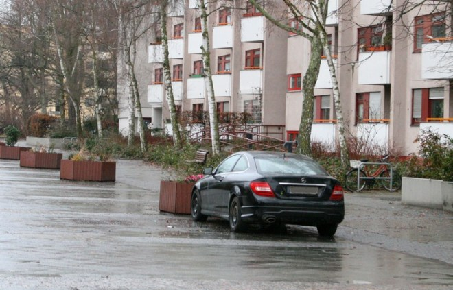 Falschparker Swinemünder Straße