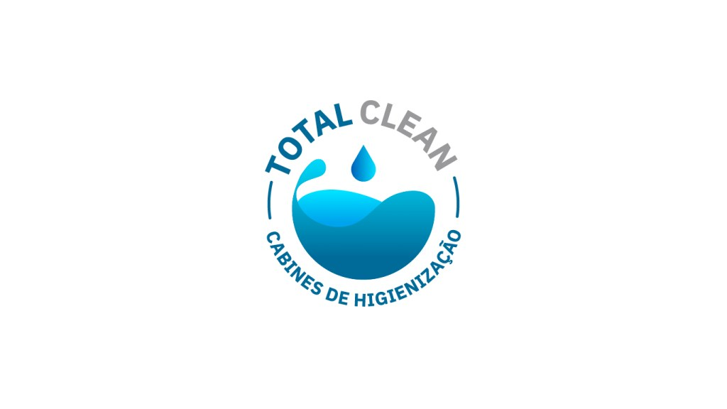 logotipo total clean - cabines de higienização