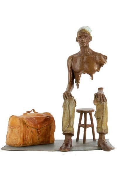 amazing bronze sculptures bruno catalano mymindabout. Black Bedroom Furniture Sets. Home Design Ideas
