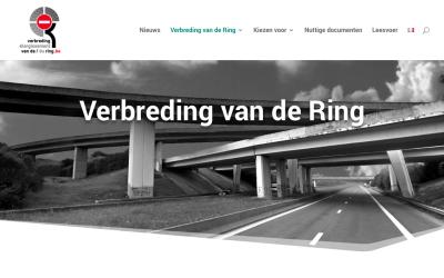 Website met alle info over verbreding Ring Brussel