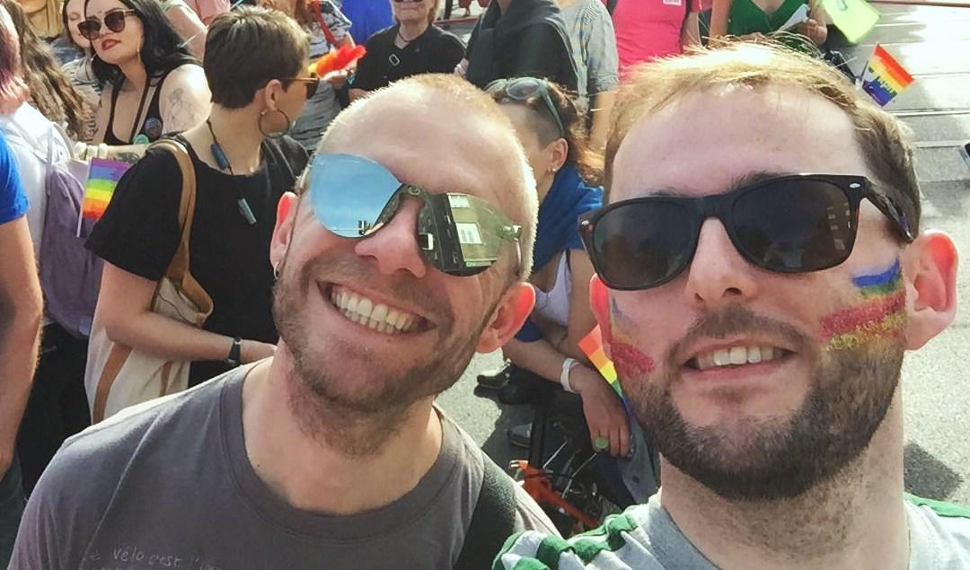 Ed Davitt (r) & Bruno De Lille (l)