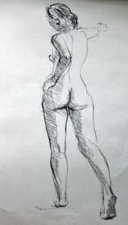 Fabienne - Pierre noire
