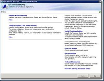Passo-a-Passo da Instalação e Configuração do Lync Server 2010 – Série 1 (4/6)