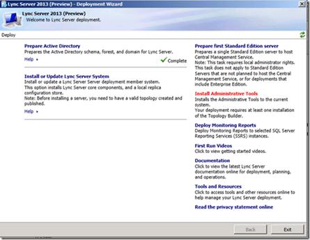 Instalando e Configurando Lync Server 2013 – Part 3 (2/6)