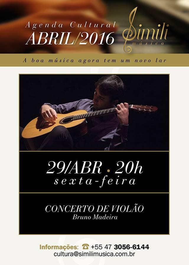 bc2 Recital   Bruno Madeira (Baln. Camboriú/SC, 29/04/16)