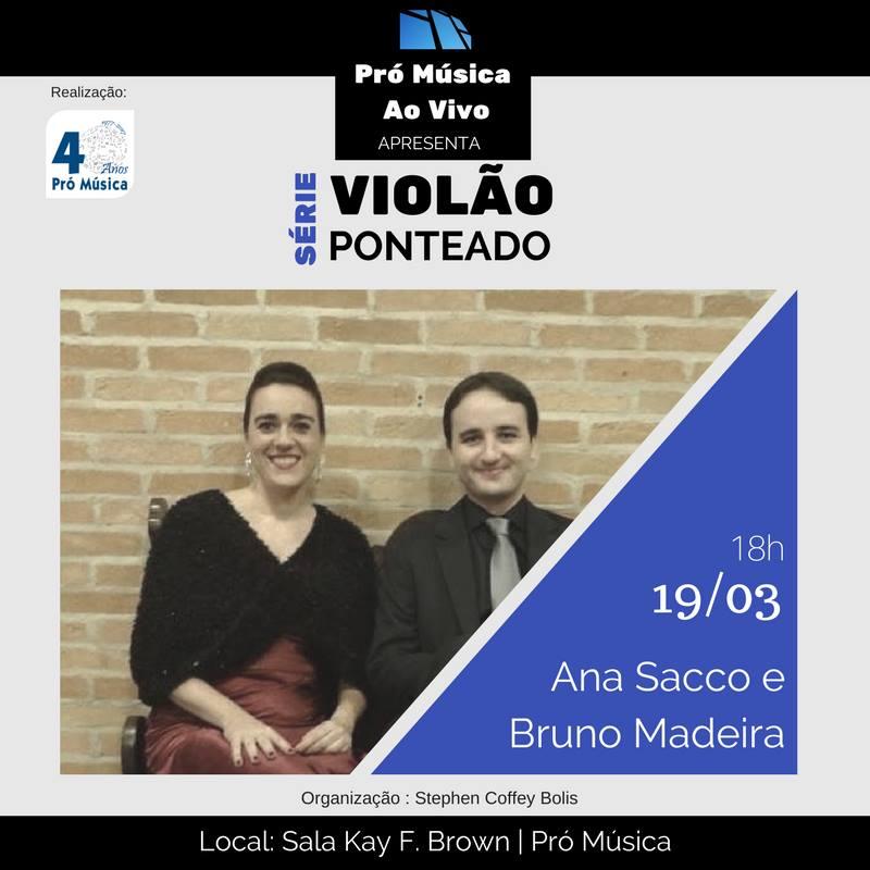 flyer prómúsica 190317 Recital de música espanhola para voz e violão (Campinas/SP, 19/03/17)