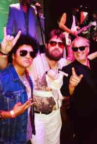 Johnny Rico As Bruno Mars At Hermosa Beach Saint Rocke