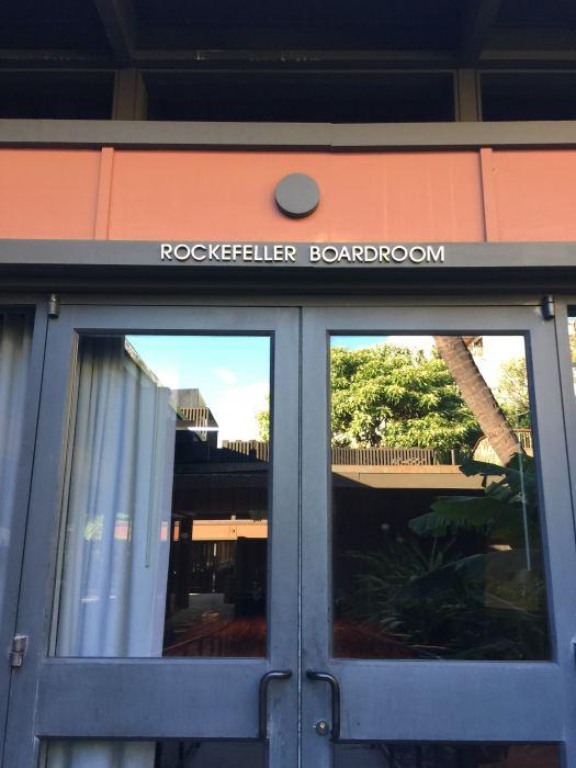 Rockefeller Boardroom At Mauna Kea Beach Hotel
