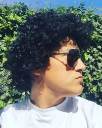 Bruno Mars Look Alike Perm - Afro Poof