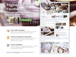 Web de las Páginas de Facebook