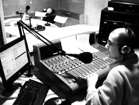 Locutor en Burjassot Radio