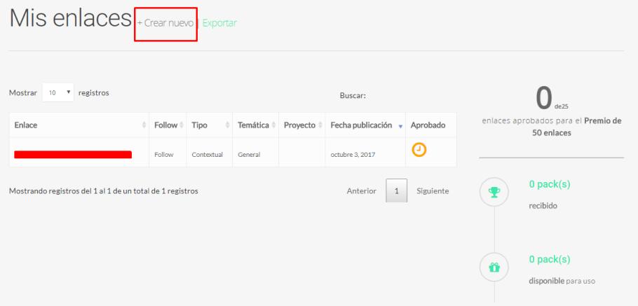 Con enlazator.com puedes conseguir enlaces gratis para tus proyectos por cada 25 que aportes tú