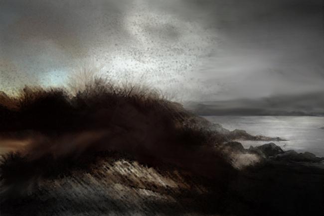 Bruno Rigolt_Paysage de dunes