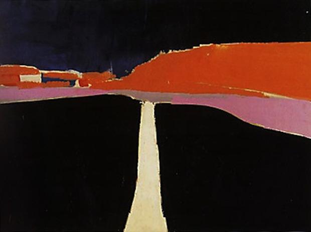 Nicolas de Stael_La Route d'Uzes 1954_a