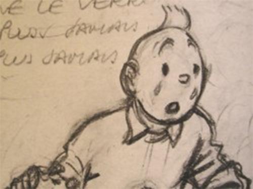 esquisse_Hergé