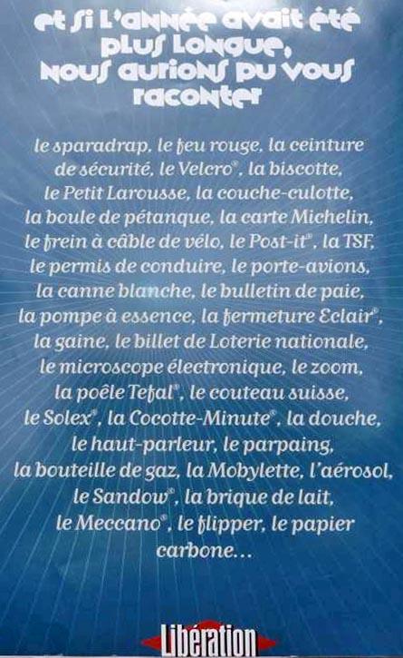 Libération_objets du siècle_4ème de couverture