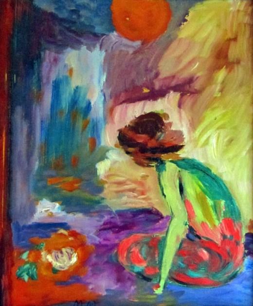 Madeleine Mirbeau_Enfant sous le soleil_1990