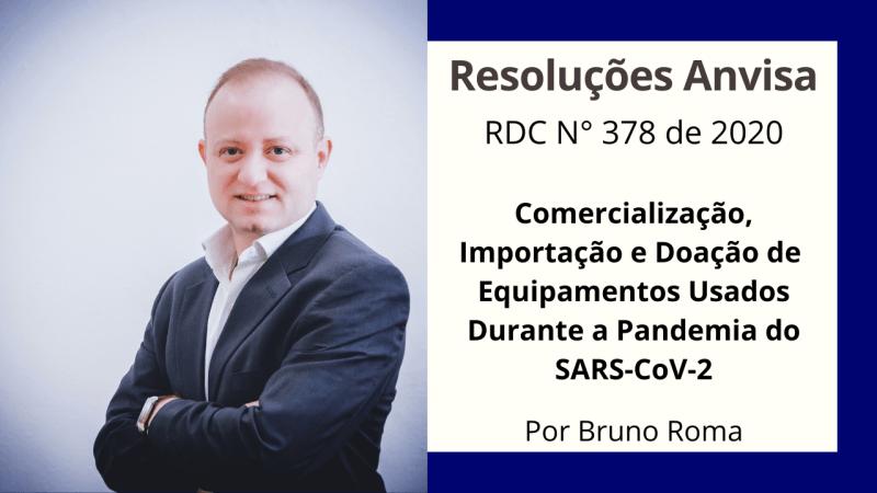 RDC N° 25/2001 – comercialização, importação e doação de equipamentos médicos usados