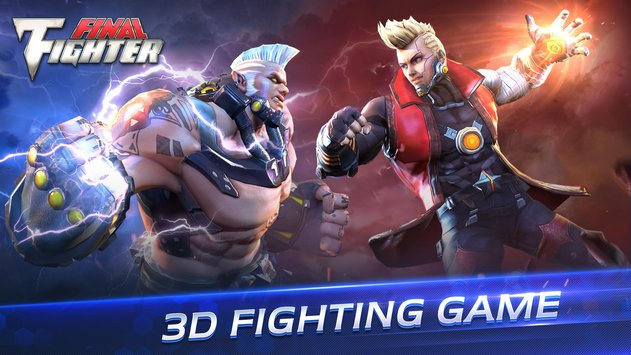 FINAL FIGHTER NOVO JOGO ESTILO STREET FIGHTER PARA ANDROID