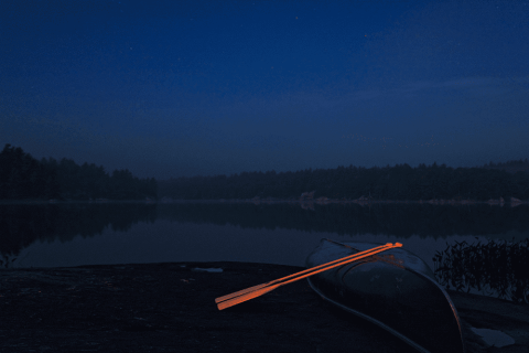 2 Oars 1 Canoe - 01/15/2013 - Massasauga Provincial Park