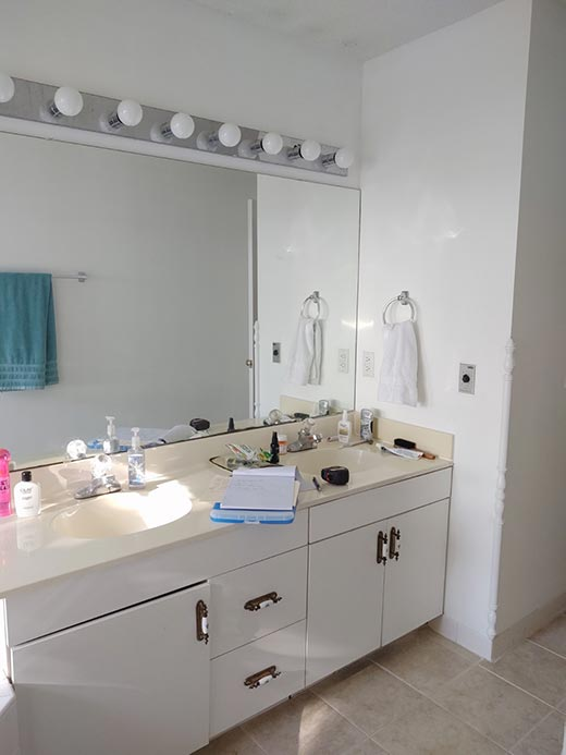 Dated Master Bathroom