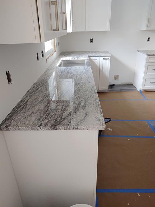 Thunder White Granite Countertops