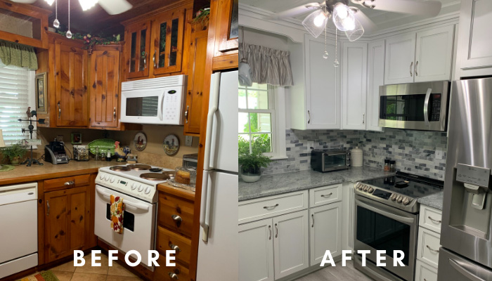 Kitchen Cabinets Transformation
