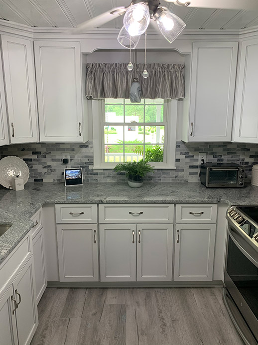 U-Shaped Kitchen Design for Shallotte Remodeling Project