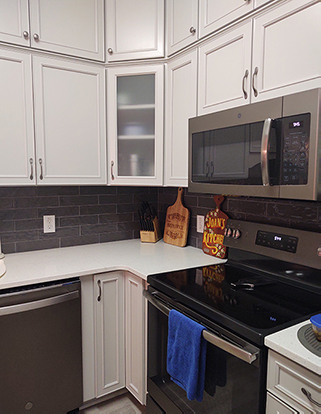 Pantry Wall Cabinet in Kitchen Remodel in Supply