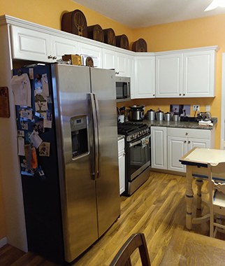 Kitchen Remodel in BSL for More Space