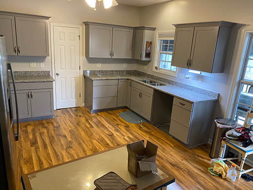 Boiling Springs Lakes Kitchen Cabinets and Countertops Remodel