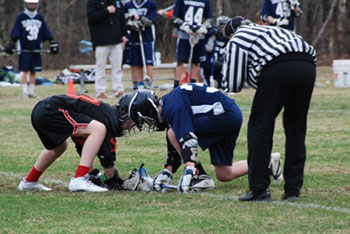 Brunswick Jr. High Lacrosse Face-Off