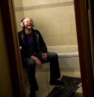 Joel Laughing
