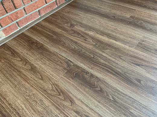 Luxury Vinyl Plank Flooring in Home