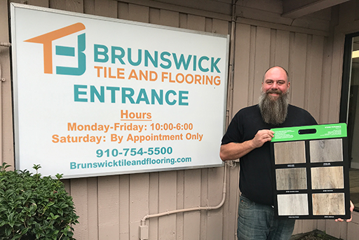 Brunswick Tile and Flooring's Manager's Choice
