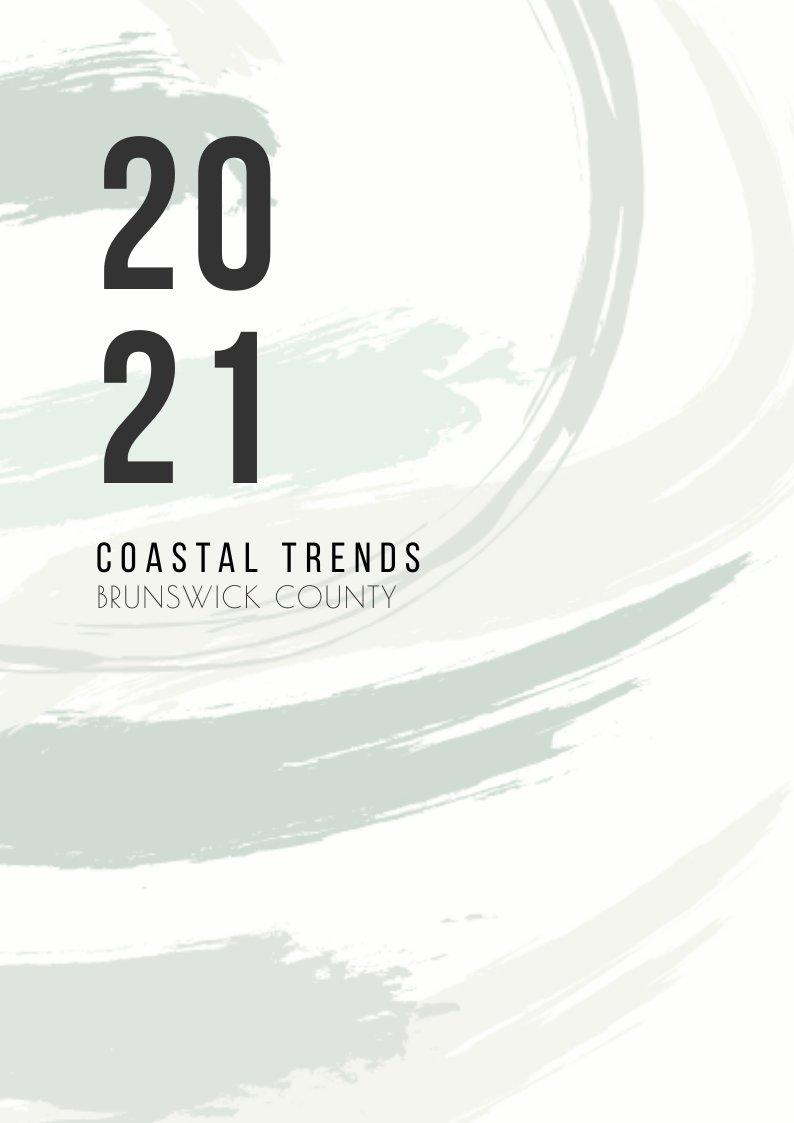 2021 Coastal Trends Brunswick County