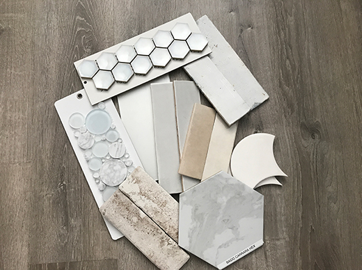 Neutral & Solid Tile Selections