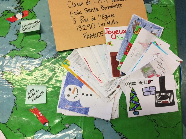French Pen pals 2