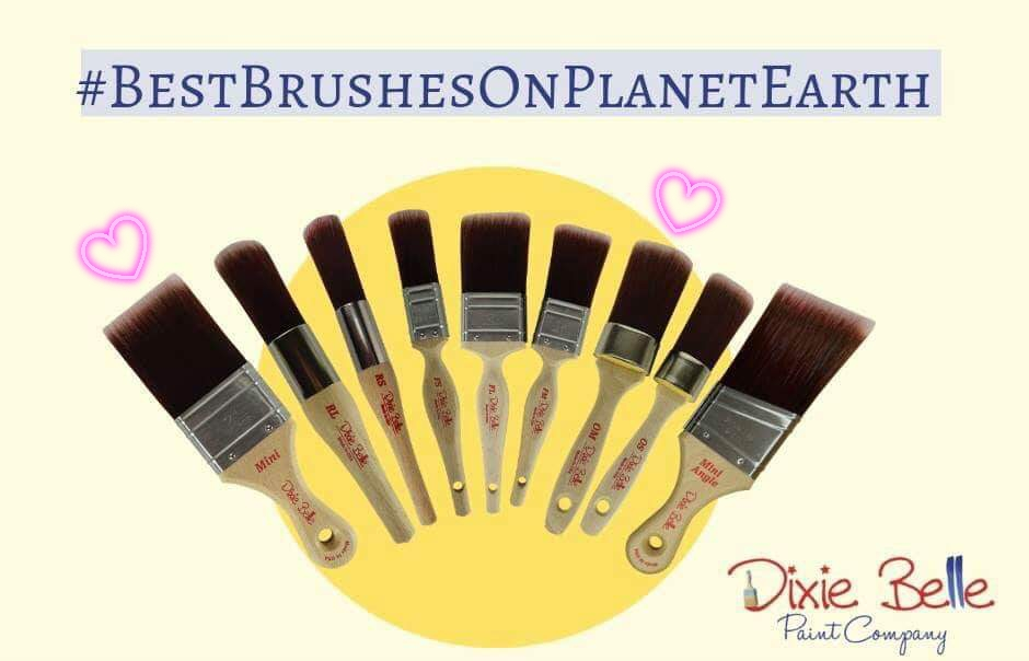 Best Brushes for Blending Paint - Brushed by Brandy Top 10 Tips for Blending Dixie Belle Chalk Mineral Paint