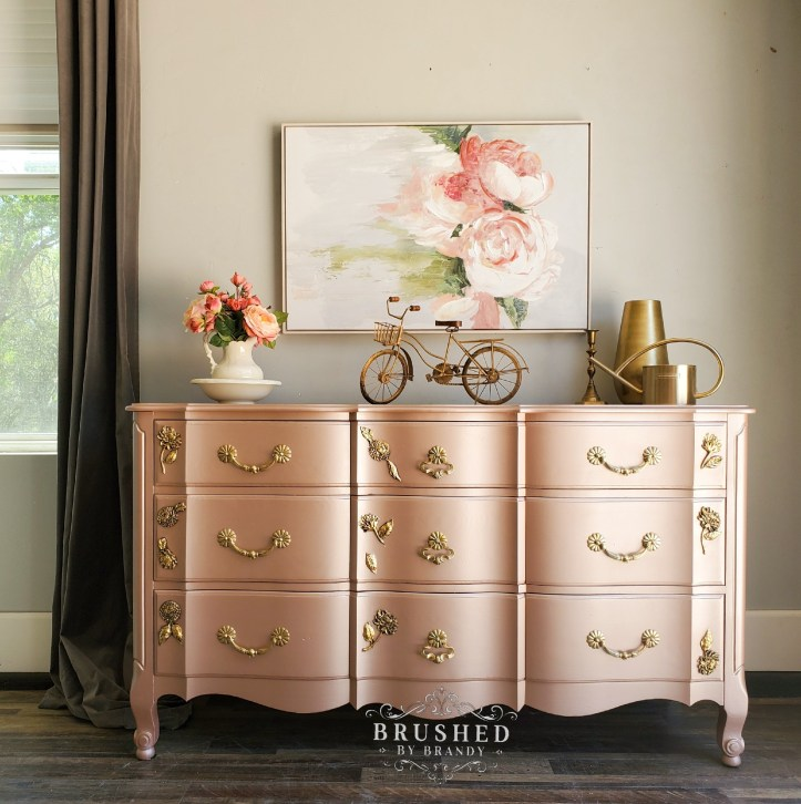 Choosing Furniture Paint Colors Brushed By Brandy