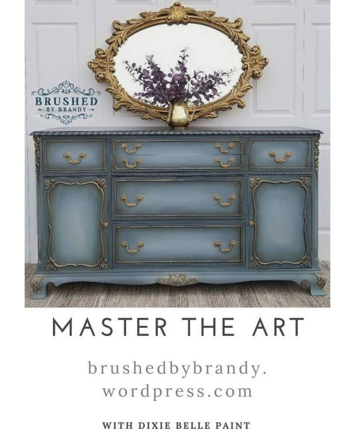 5 tips for beginner furniture painters Brushed by Brandy Master the Art!