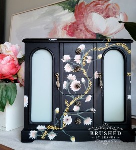 Hand Painted Floral Jewelry Box How-To