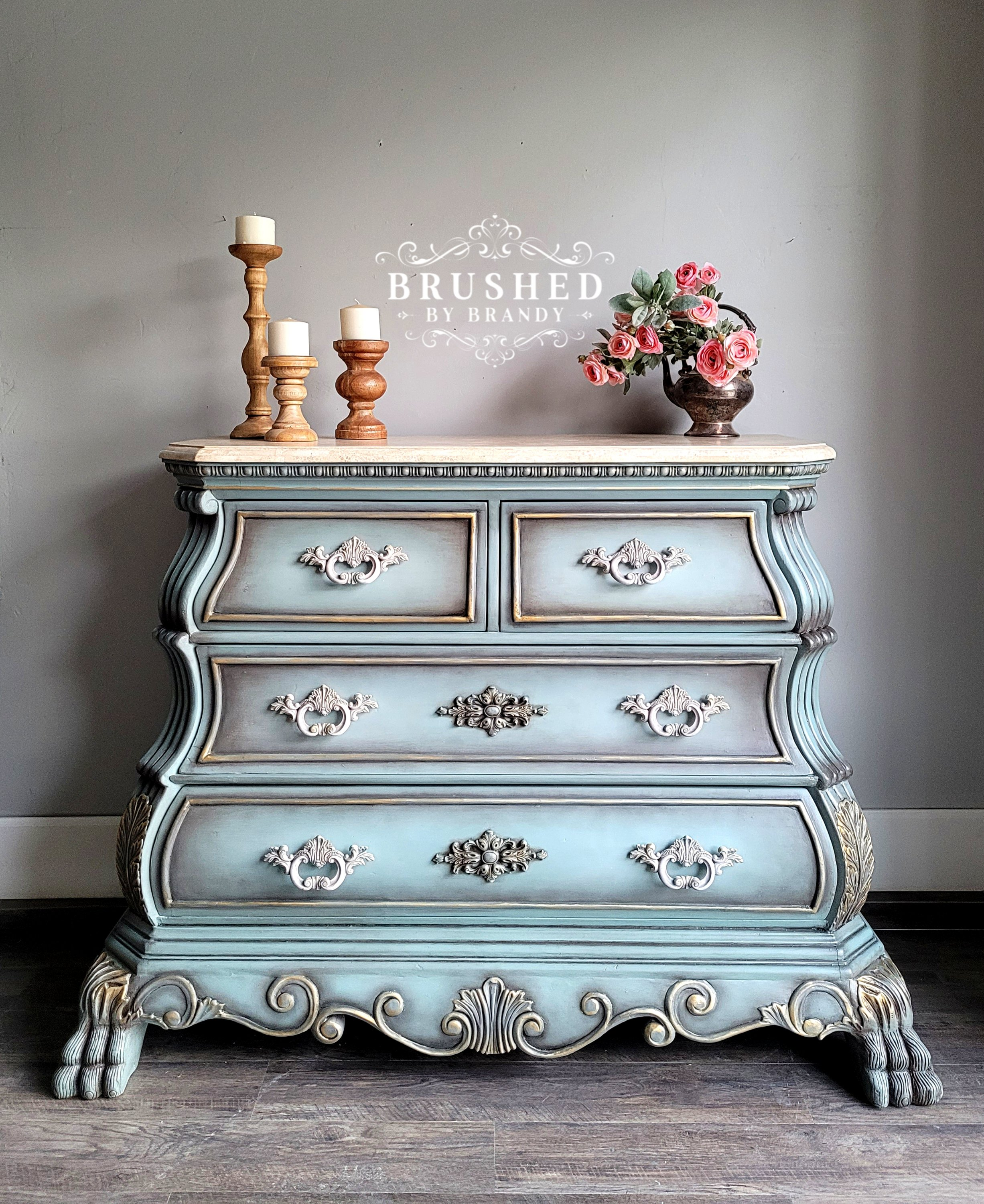 French Console Brushed by Brandy