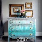 Vinegar Painting Technique on a Nautical Inspired Chest