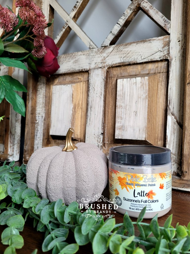 Dixie Belle Latte Paint Color New Fall Release Brushed by Brandy