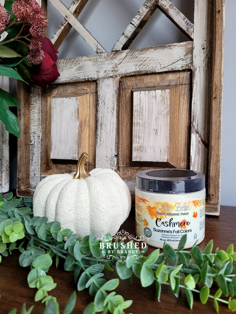 Dixie Belle Cashmere Paint Color New Fall Release Brushed by Brandy