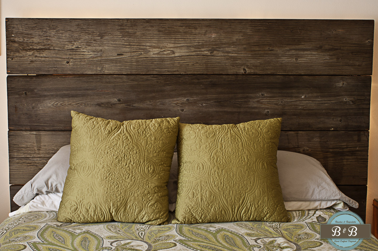 diy wooden headboard with lights complete fine woodworking